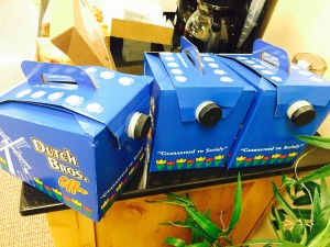 We were treated to enough fresh Dutch Bros. coffee for 20 people!